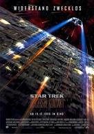 Star Trek: First Contact - German Movie Poster (xs thumbnail)