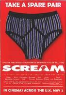 Scream - British Movie Poster (xs thumbnail)