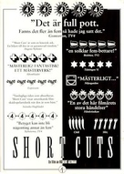 Short Cuts - Swedish Movie Poster (xs thumbnail)