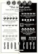 Short Cuts - Swedish Movie Poster (xs thumbnail)