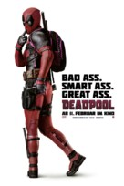 Deadpool - Swiss Movie Poster (xs thumbnail)