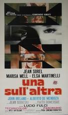 Una sull'altra - Italian Movie Poster (xs thumbnail)