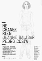 Ne change rien - Portuguese Movie Poster (xs thumbnail)