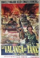 Tank Battalion - Italian Movie Poster (xs thumbnail)