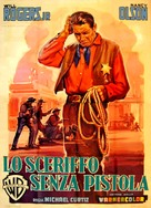 The Boy from Oklahoma - Italian Movie Poster (xs thumbnail)