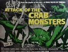Attack of the Crab Monsters - British Movie Poster (xs thumbnail)