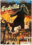 Godzilla, King of the Monsters! - German Movie Poster (xs thumbnail)
