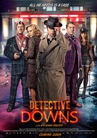 Detektiv Downs - Norwegian Movie Poster (xs thumbnail)