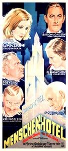 Grand Hotel - German Movie Poster (xs thumbnail)