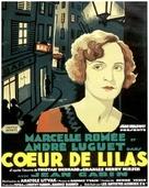 Coeur de lilas - French Movie Poster (xs thumbnail)