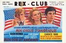 Mon oncle d'Amérique - Belgian Movie Poster (xs thumbnail)