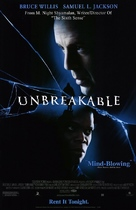 Unbreakable - Video release movie poster (xs thumbnail)