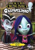 Casper's Scare School - Brazilian DVD movie cover (xs thumbnail)