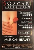 American Beauty - Swedish Movie Poster (xs thumbnail)