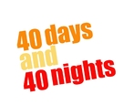 40 Days and 40 Nights - Logo (xs thumbnail)