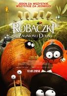 Minuscule - La vallée des fourmis perdues - Polish Movie Poster (xs thumbnail)