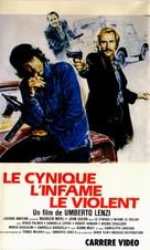 Il cinico, l'infame, il violento - French Movie Poster (xs thumbnail)