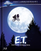 E.T.: The Extra-Terrestrial - Blu-Ray cover (xs thumbnail)