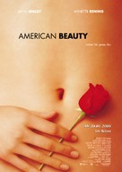 American Beauty - German Advance poster (xs thumbnail)