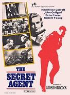 Secret Agent - British Movie Poster (xs thumbnail)