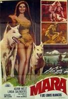 Mara of the Wilderness - Spanish Movie Poster (xs thumbnail)