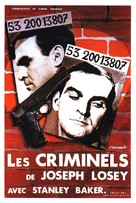 The Criminal - French Movie Poster (xs thumbnail)