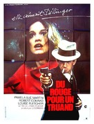 The Lady in Red - French Movie Poster (xs thumbnail)