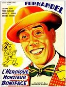 Hèroïque Monsieur Boniface, L' - French Movie Poster (xs thumbnail)