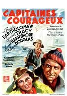 Captains Courageous - Belgian Movie Poster (xs thumbnail)