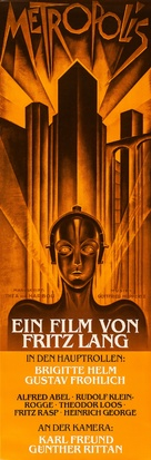 Metropolis - German Re-release movie poster (xs thumbnail)