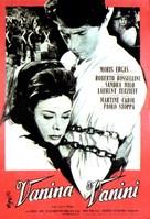 Vanina Vanini - French Movie Poster (xs thumbnail)