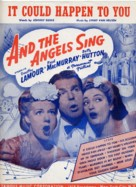 And the Angels Sing - poster (xs thumbnail)