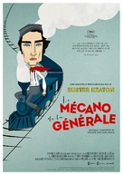 The General - French Re-release poster (xs thumbnail)
