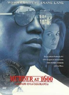 Murder At 1600 - Spanish DVD movie cover (xs thumbnail)
