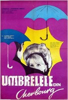 Les parapluies de Cherbourg - German Movie Poster (xs thumbnail)