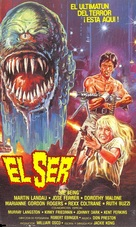 The Being - Spanish VHS movie cover (xs thumbnail)