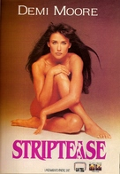 Striptease - Argentinian VHS movie cover (xs thumbnail)