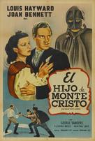 The Son of Monte Cristo - Argentinian Movie Poster (xs thumbnail)