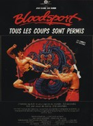 Bloodsport - French Movie Poster (xs thumbnail)