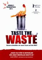 Taste the waste - German DVD cover (xs thumbnail)