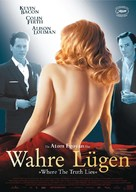 Where the Truth Lies - German Movie Poster (xs thumbnail)