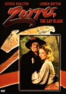 Zorro, the Gay Blade - DVD cover (xs thumbnail)
