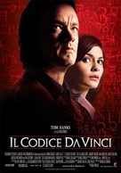 The Da Vinci Code - Italian Movie Poster (xs thumbnail)