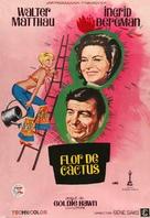 Cactus Flower - Spanish Movie Poster (xs thumbnail)