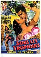 Tropic Zone - Belgian Movie Poster (xs thumbnail)