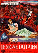 Sign of the Pagan - French Movie Poster (xs thumbnail)