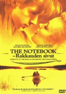The Notebook - Finnish DVD cover (xs thumbnail)