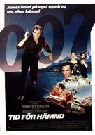 Licence To Kill - Swedish Movie Poster (xs thumbnail)