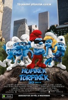 The Smurfs - Hungarian Movie Poster (xs thumbnail)