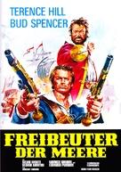 Il corsaro nero - German Movie Poster (xs thumbnail)